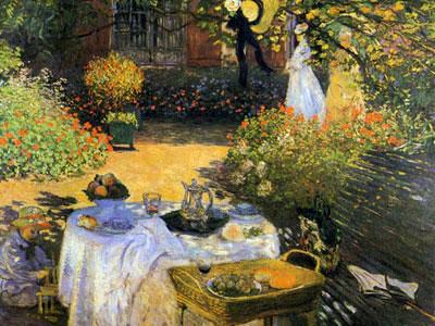 Claude monet ses oeuvres - Petit jardin contemporain argenteuil ...