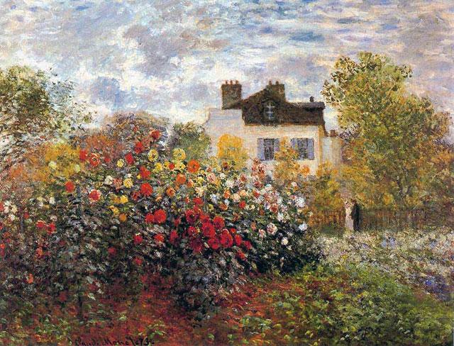 Claude monet ses oeuvres - Les jardins de claude monet ...